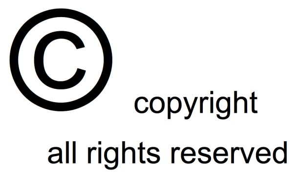 Copyright Symbol by Mike Blogs CC