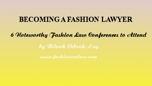 Fashion Law Conferences 2014
