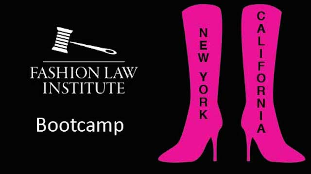 Fashion Law Institute Bootcamp West Coast