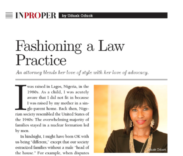 California Lawyer Magazine Feature