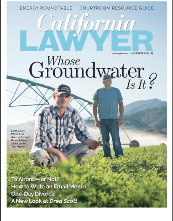 California Lawyer Magazine No 2014